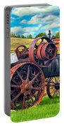 Steam Powered Tractor - Paint Portable Battery Charger