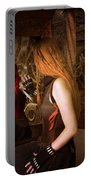 Steampunk Mirror Portable Battery Charger