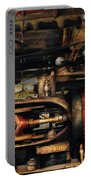 Steampunk - No 8431 Portable Battery Charger by Mike Savad