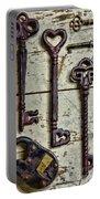 Steampunk - Old Skeleton Keys Portable Battery Charger