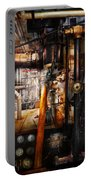 Steampunk - Plumbing - Pipes Portable Battery Charger