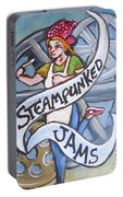 Steampunked Jams Portable Battery Charger