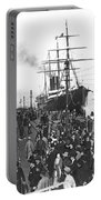 Steamship In Japan Portable Battery Charger