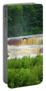 Steamy Lower Tahquamenon  Portable Battery Charger