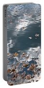 Steel Sky On Lake Portable Battery Charger