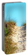 Steep Beach Path Portable Battery Charger