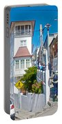 Steep Streets Up The Hills In Valparaiso-chile   Portable Battery Charger