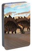 Stegosaurus Dinosaur Portable Battery Charger