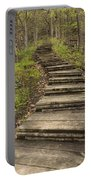 Step Trail In Woods 17 A Portable Battery Charger