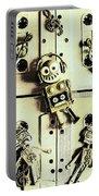Stereo Robotics Art Portable Battery Charger