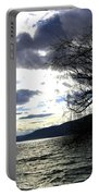 Sterling Silver Sunset Portable Battery Charger