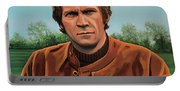 Steve Mcqueen Painting Portable Battery Charger