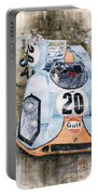 Steve Mcqueens Porsche 917k Le Mans Portable Battery Charger
