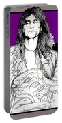 Steve Vai Sitting Portable Battery Charger
