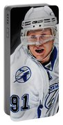 Steven Stamkos Portable Battery Charger by Marlon Huynh