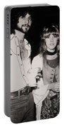 Stevie Nicks And Lindsey Buckingham Portable Battery Charger