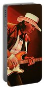 Stevie Ray Vaughan Painting Portable Battery Charger