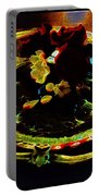 Still Life Abstract Portable Battery Charger