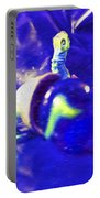 Still Life In Blue Portable Battery Charger