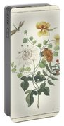 Still Life Of Flowers, Machtelt Moninckx, C. 1600 - C. 1687 Portable Battery Charger