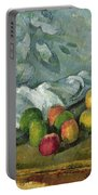 Still Life Portable Battery Charger by Paul Cezanne