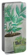 Still Life Plants Portable Battery Charger