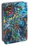 Abstract Still Life Portable Battery Charger