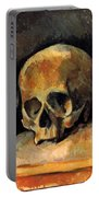 Still Life, Three Skulls Portable Battery Charger