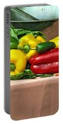 Still Life Vegetables Portable Battery Charger