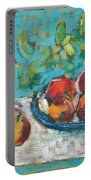 Still Life With Apples Portable Battery Charger