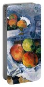 Still Life With Fruit Dish Portable Battery Charger
