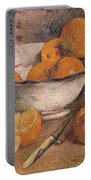 Still Life With Oranges Portable Battery Charger