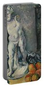 Still Life With Plaster Cupid Portable Battery Charger