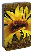Still Life With Sunflower Portable Battery Charger