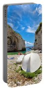 Stinva Bay Beach Summer View Portable Battery Charger