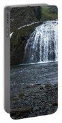 Stjornarfoss Waterfall - Iceland Portable Battery Charger