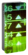 Stock Market Numbers Portable Battery Charger