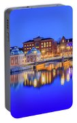 Stockholm Blue Hour Postcard Portable Battery Charger