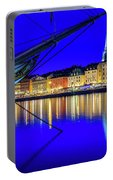 Stockholm Old City Blue Hour Serenity Portable Battery Charger