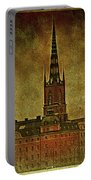 Stockholm Painting V Portable Battery Charger