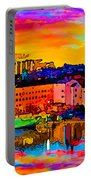 Stockholm Reflective Art Portable Battery Charger