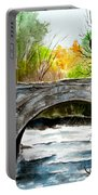 Stone Bridge In Maine  Portable Battery Charger