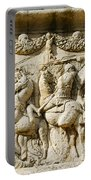 Stone Carving On Mausoleum Of The Julii Portable Battery Charger