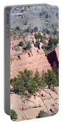 Stone Quarry In Red Rock Canyon Open Space Park Portable Battery Charger