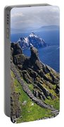 Stone Stairway, Skellig Michael Portable Battery Charger
