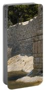 Stone Wall In Foca Portable Battery Charger