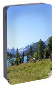 Stoney Indian Pass Trail Around Cosley Lake - Glacier National Park Portable Battery Charger