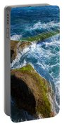 Stony Shore In Costa Adeje Portable Battery Charger