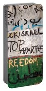 Stop Apartheid Portable Battery Charger