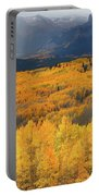 Storm At Ohio Pass During Autumn Portable Battery Charger